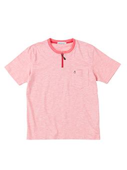 ミジンボーダーZIPTシャツ