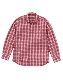 【JAPAN FABRIC】スペックステッチチェックシャツ