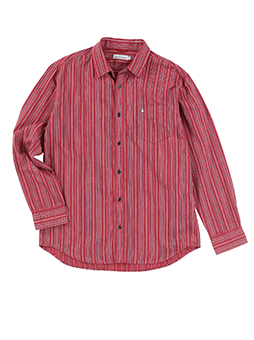 【JAPAN FABRIC】スペックツイルドビーストライプシャツ