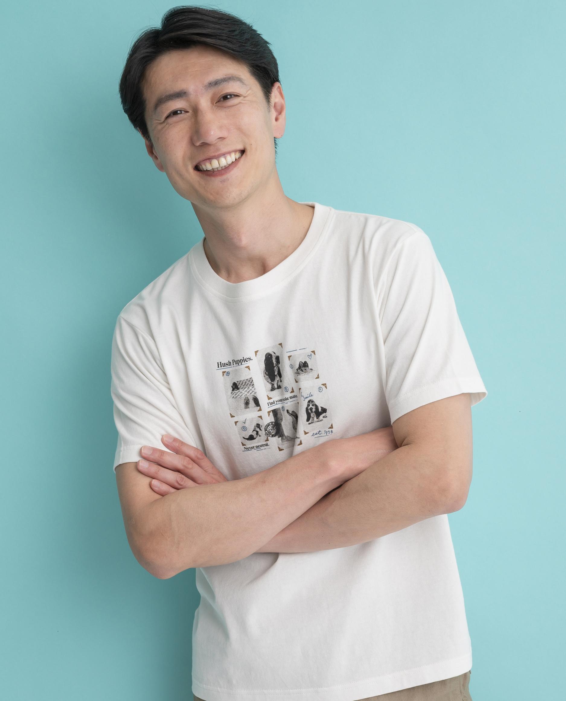 写真コラージュptTシャツ
