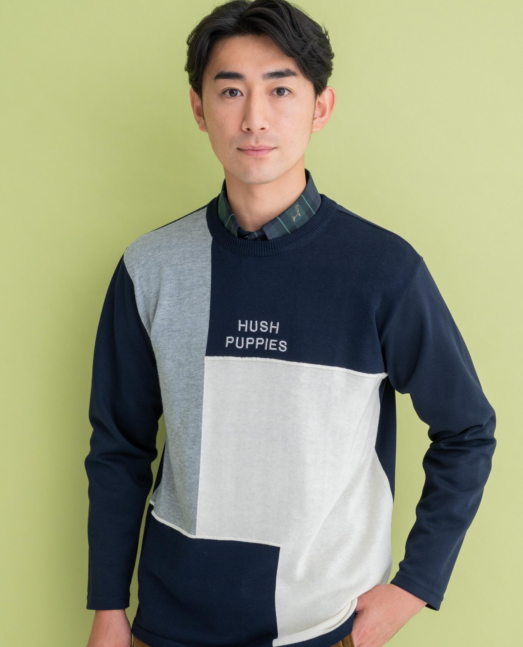 12GニットポンチHB長袖Tシャツ