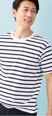 【Vol,125】コットン100%・接触冷感・汗染み軽減はエクストラコンフォートTシャツ