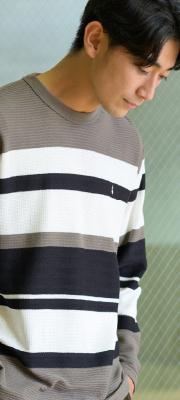 【Vol,133】1枚着からインナーまで!ニット見えする大人Tシャツ