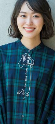 【Vol,135】パピー刺繍で癒しと華やぎのシャツスタイル