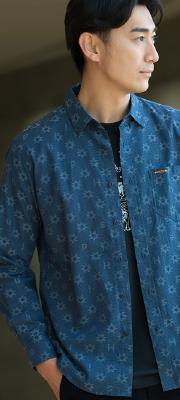 【Vol,136】オリジナル生地のデザインシャツで価値ある大人コーデに!