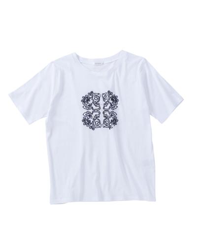 リーフモチーフ大人Tシャツ